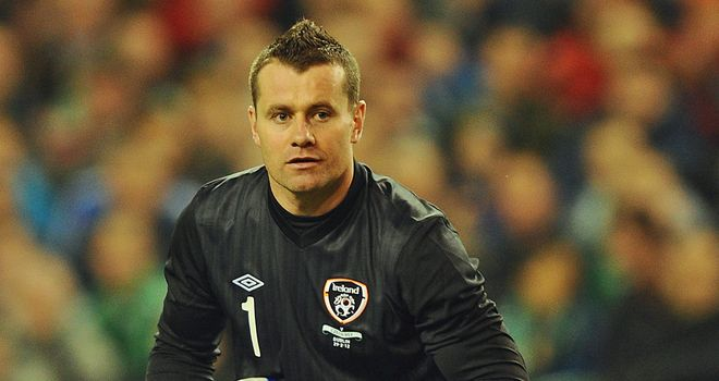 Shay Given: The Ireland goalkeeper is set to resume training next week