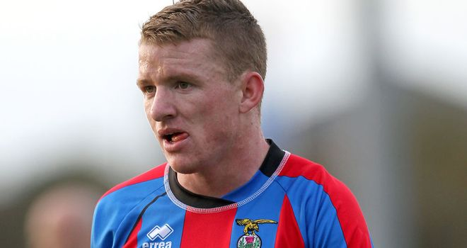 Jonny Hayes: The winger has sealed his move from Inverness to Aberdeen