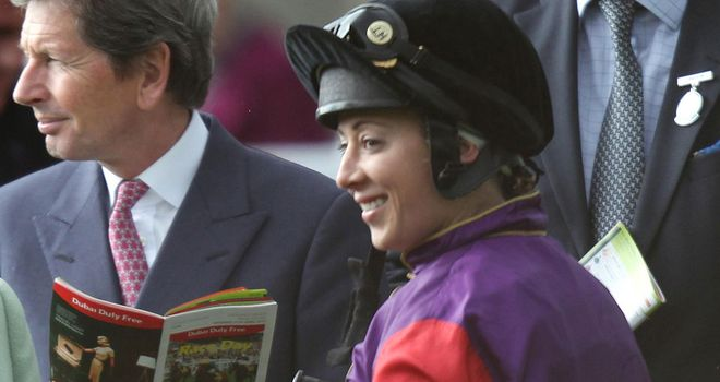 Hayley Turner: Gained a surprise success on the Queen's Momentary