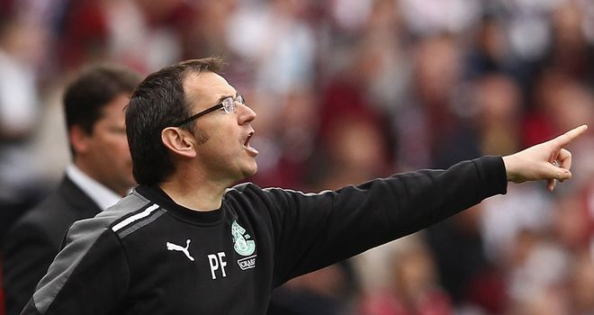 Pat Fenlon: Hibernian manager will start the season against Dundee United