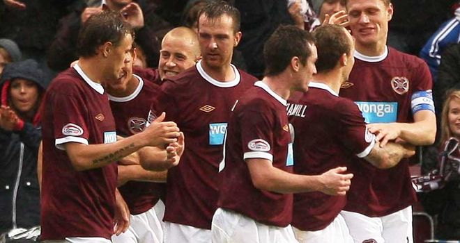 Hearts: Bounced back from defeats