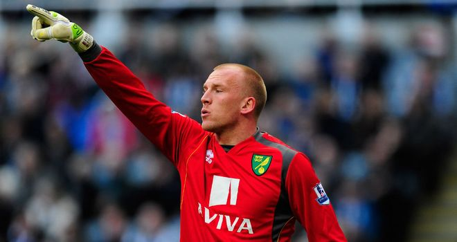 John Ruddy: Will fight to keep hold of the No.1 spot at Norwich