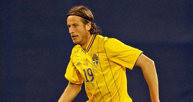 Jonas Olsson: Has described former Baggies boss Roy Hodgson as an inspiration ahead of Euro 2012 clash