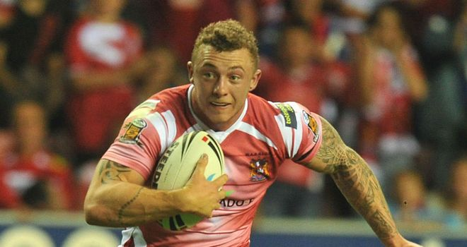 Josh Charnley: Unhappy at costing Wigan eight points in Friday's win