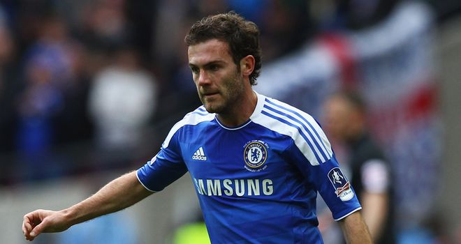Juan Mata: Chelsea midfielder has had a hectic summer