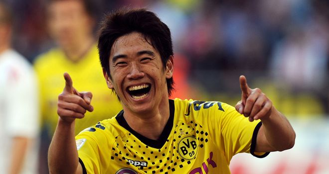 Shinji Kagawa: Poised to join Manchester United from Dortmund