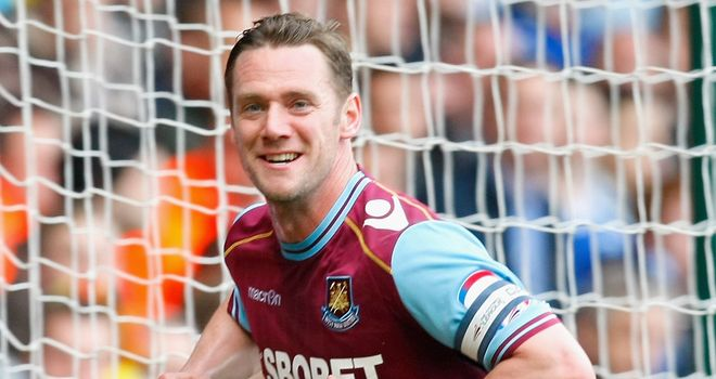 Kevin Nolan: West Ham captain will again play an important role for them next season