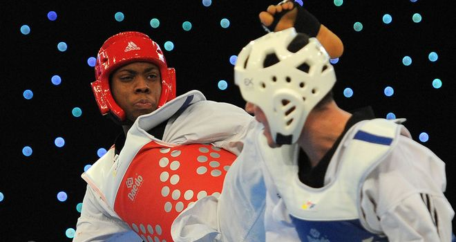 Lutalo Muhammad: Lost his quarter-final against Nicolas Garcia Hemme