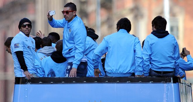Carlos Tevez: Has been rapped by former team-mate Patrice Evra for showing a lack of respect