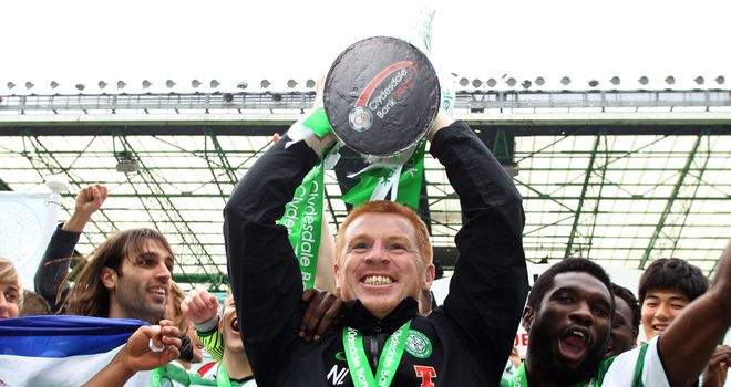 Neil Lennon: Hoping to get his hands on the SPL silverware once again in 2012/13
