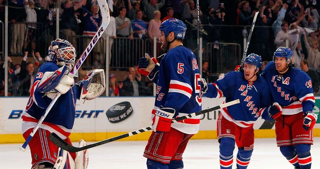 New York Rangers: Ended Buffalo's hopes of reaching the play-offs