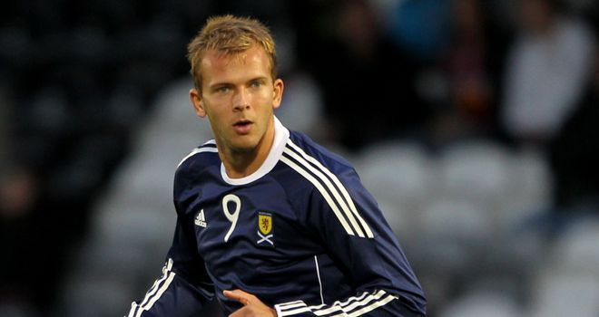 Jordan Rhodes: Will get the opportunity to impress for Scotland against Australia