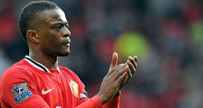Patrice Evra: The France international is confident Manchester United can win the title next season