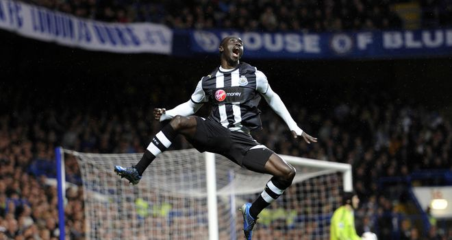 Papiss Cisse: Expected to form part of Senegal's squad at the 2012 Olympics