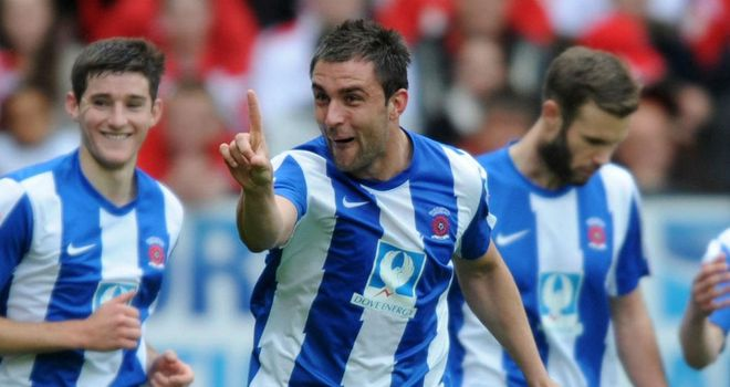 Peter Hartley: Hoping Hartlepool can improve their final standing again in 2012/13
