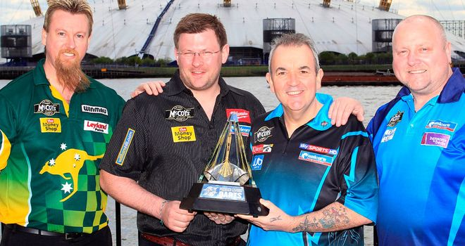 Premier League Darts: Gets underway tonight live on Sky Sports 1 HD from 7pm
