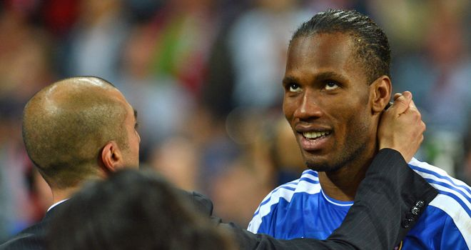Didier Drogba: Striker is wanted by Shanghai Shenhua after confirming he is leaving Chelsea