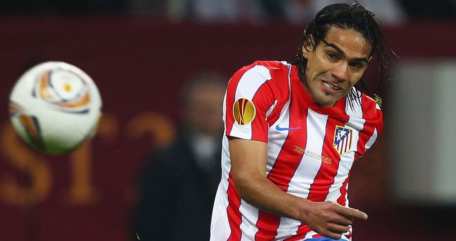 Radamel Falcao: Atletico Madrid striker on target for Colombia