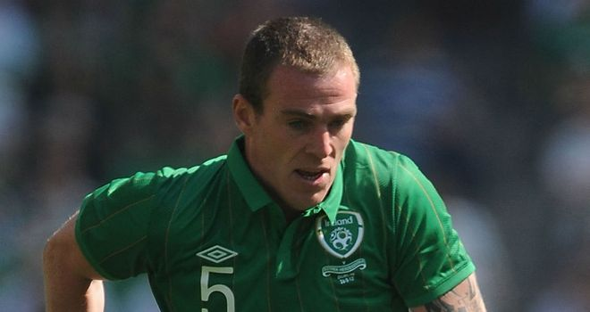 Richard Dunne: Set to hold talks with Giovanni Trapattoni about his future with the Irish team
