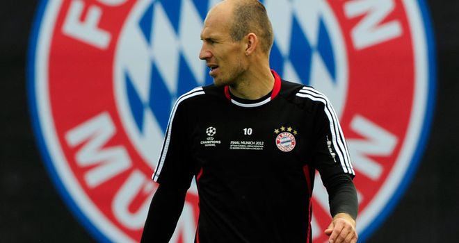 Arjen Robben: Reports have suggested the Dutchman is unpopular in the Bayern dressing room