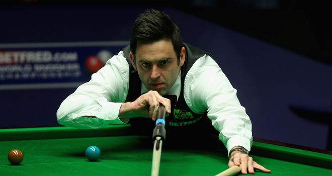 Ronnie O'Sullivan: Beaten by Bedford on his return to snooker