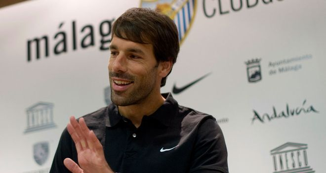 Ruud Van Nistelrooy: Played for both Manchester United and Real Madrid