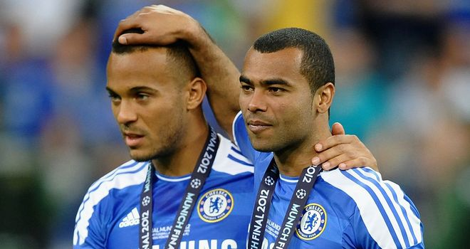 Ryan Bertrand and Ashley Cole: Linking up well on the Chelsea left flank