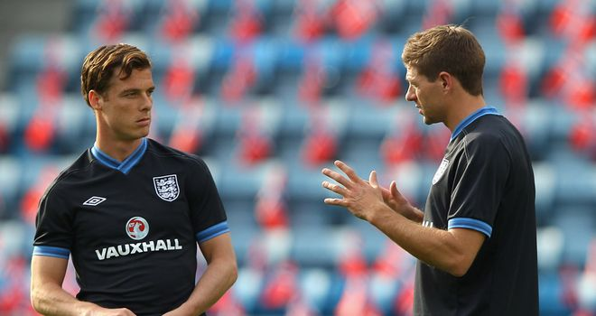 Roy Hodgson is not concerned by the fitness of midfield duo Scott Parker and Steven Gerrard