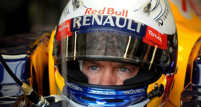 Sebastian Vettel: Says he is happy at Red Bull