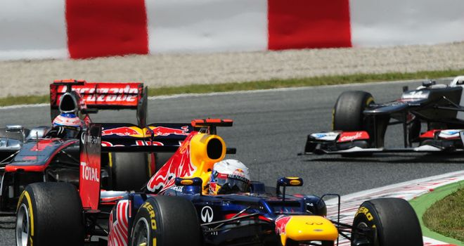 Sebastian Vettel: Only a late surge maintained his title lead