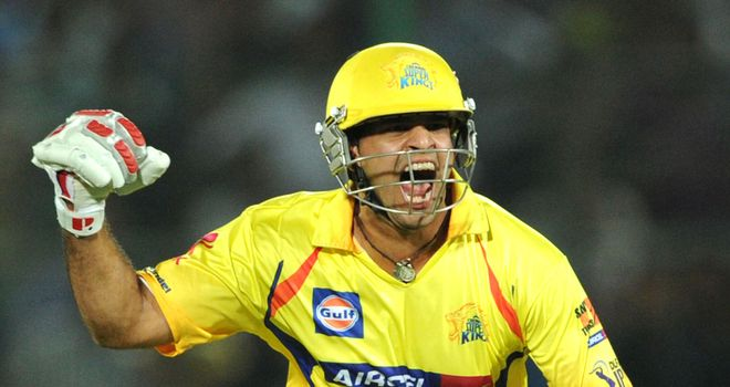 Srikkanth Anirudha: Celebrates Chennai's win