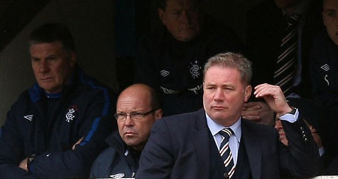 Ally McCoist: Will be looking to bolster his squad after the transfer embargo was put back