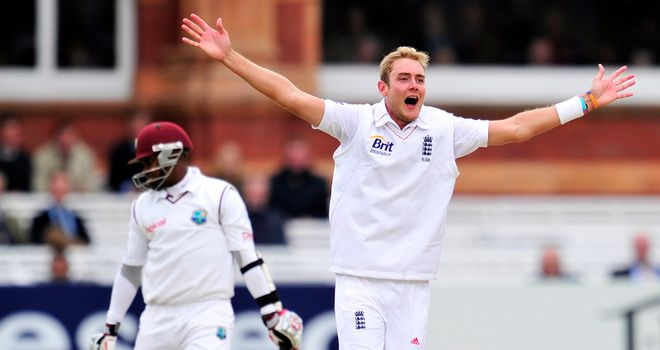 Stuart Broad: Has taken 11 wickets in the match
