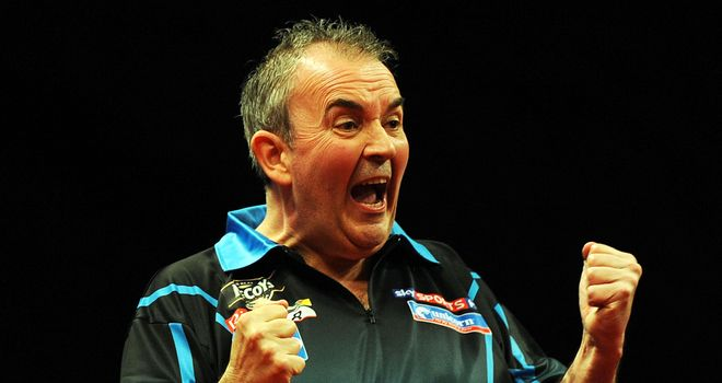 Phil Taylor: Overcame Terry Jenkins 10-5 to seal his place in the last four