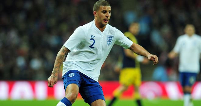 Kyle Walker: Tottenham full-back was gutted to miss England's Euro 2012 bid and the Olympics