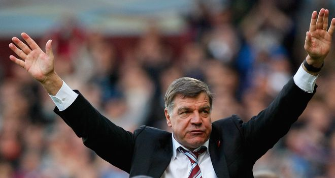Sam Allardyce: Has the support of the West Ham owners but knows he must deliver