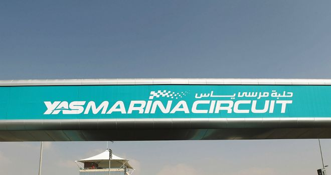 The Yas Marina Circuit usually hosts the young driver test