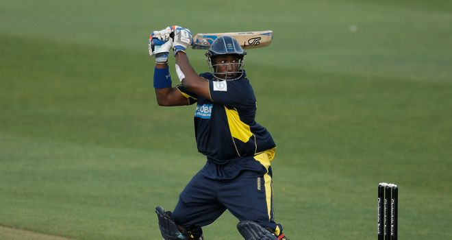 Michael Carberry: brilliant century