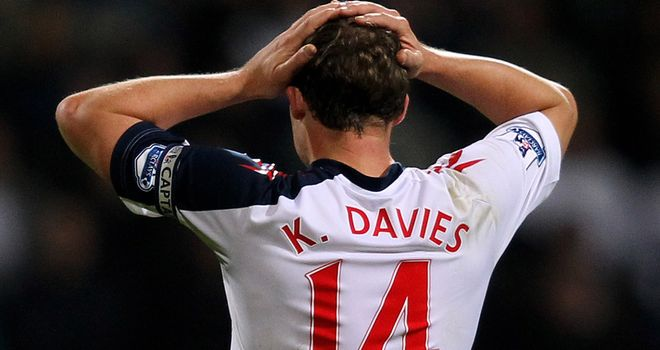 Kevin Davies: Faces an uncertain future but is ready to stay at Bolton