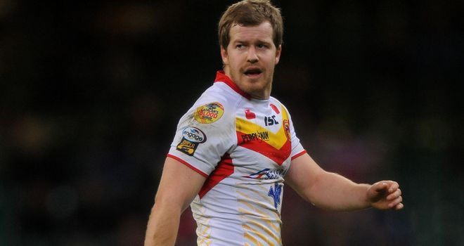 Scott Dureau: ready to return to action with Catalan Dragons