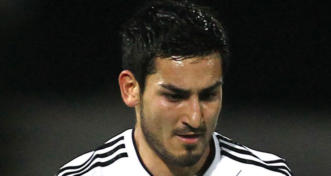 Ilkay Gundogan: The midfielder is a doubt for Germany's Euro 2012 semi-final