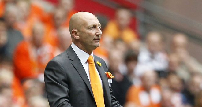 Ian Holloway: Proud of his Blackpool players despite play-off disappointment