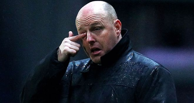 Steve Kean: Blackburn's fans let the club's manager know about their disappointment