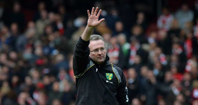 Paul Lambert: Norwich are working to find a replacement for the new Aston Villa manager