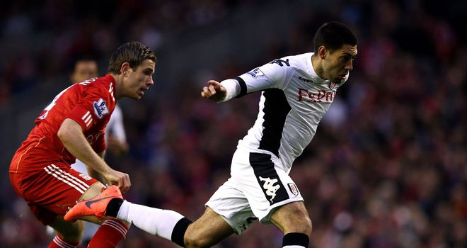 Clint Dempsey: Fulham forward is no longer committed to the club after Liverpool went public about enquiry