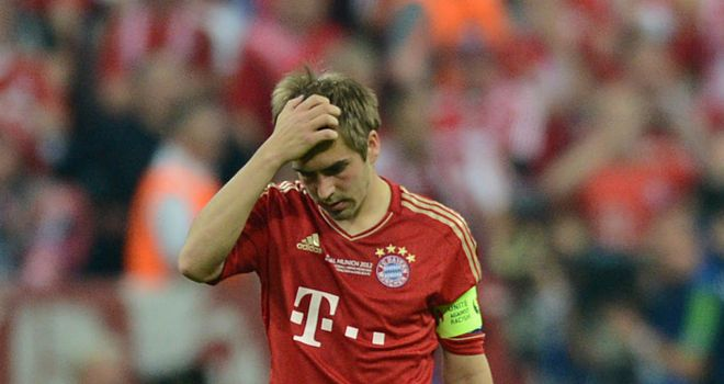 Lahm: Expects a 'real test'