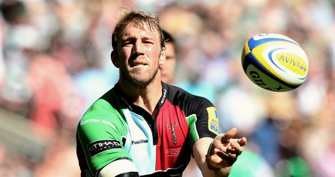 Chris Robshaw: Harlequins skipper reflected on emotional victory
