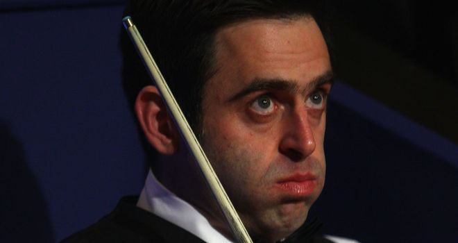 Ronnie O'Sullivan: Missed eight tournaments in 2010