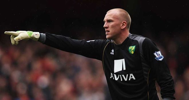 John Ruddy: In contention for a place in England's Euro 2012 squad