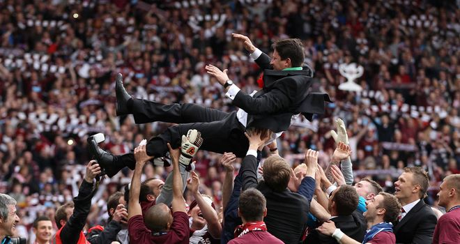 Paulo Sergio: A Hearts hero after guiding the club to cup success but still unsure of his future